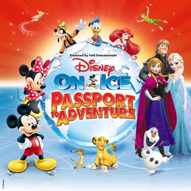 Disney On Ice – Passport to Adventure – Events in Dubai, UAE