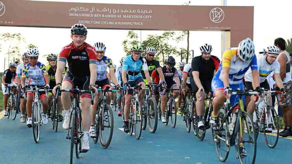 District One Cycling and Running Track Dubai