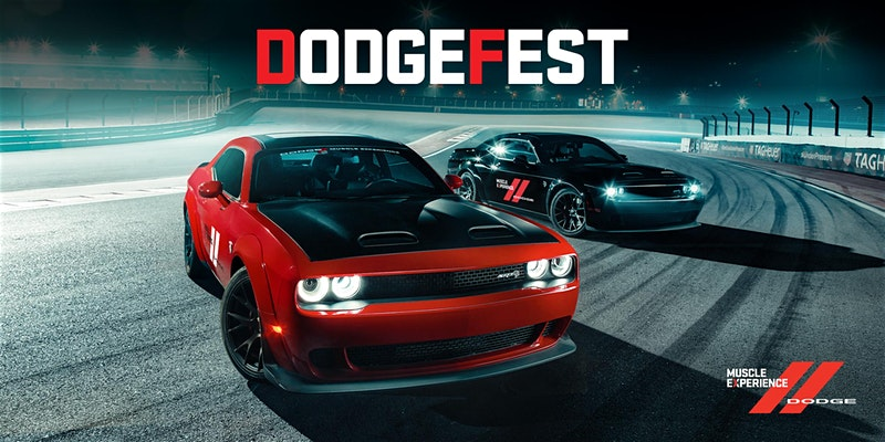 Dodge Fest 2020 on Jan 16th at Dubai Autodrome