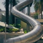 Downtown Slide Dubai, UAE.