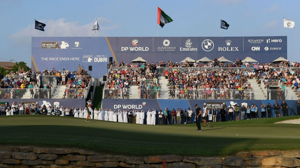 DP World Tour Championships Dubai 2019