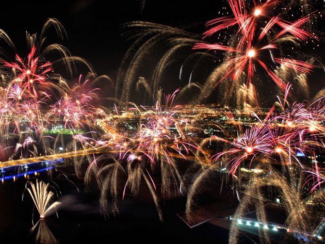 DSF Fireworks 2015 Dubai