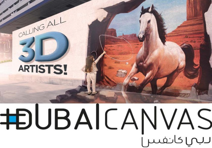 Dubai Canvas 3D Art Festival 2018 held on 1st to 7th March 2018 at La Mer, Jumeirah 1
