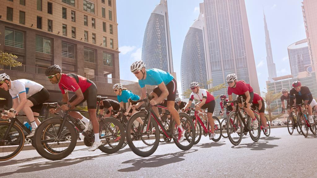 Dubai Corporate Games Cycling Challenge on Mar 14th at District One Meydan