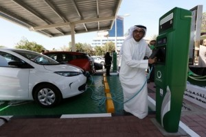 Dubai Electric Vehicle Charging Station