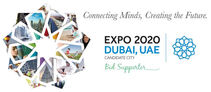 Dubai Expo 2020 – Connecting Minds, Creating Future