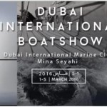 Dubai international boat show official logo