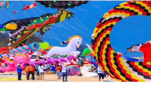 Dubai International Kite Festival 2015