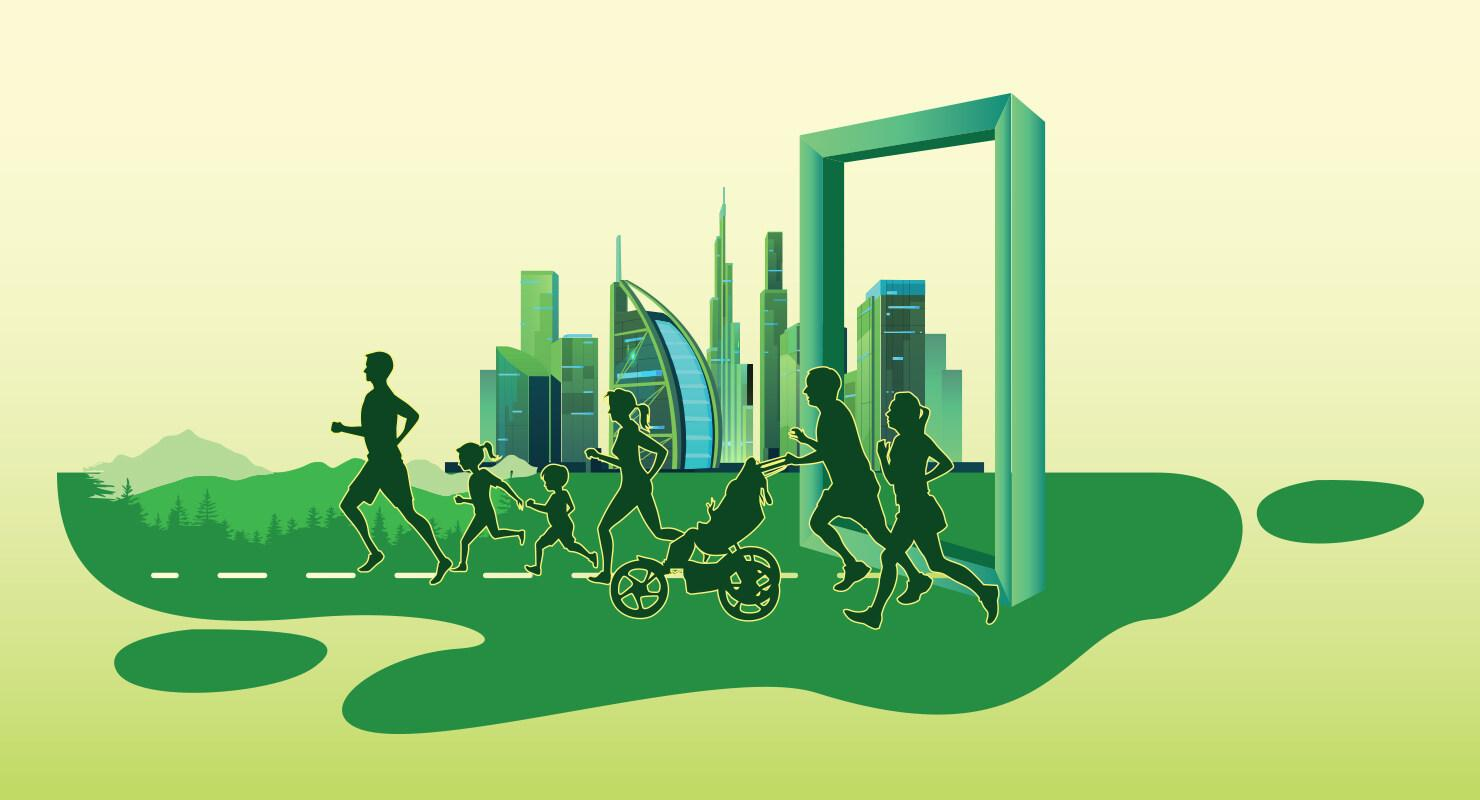 Dubai Investments Green Run 2020 on Sep 18th at Dubai Investments Park