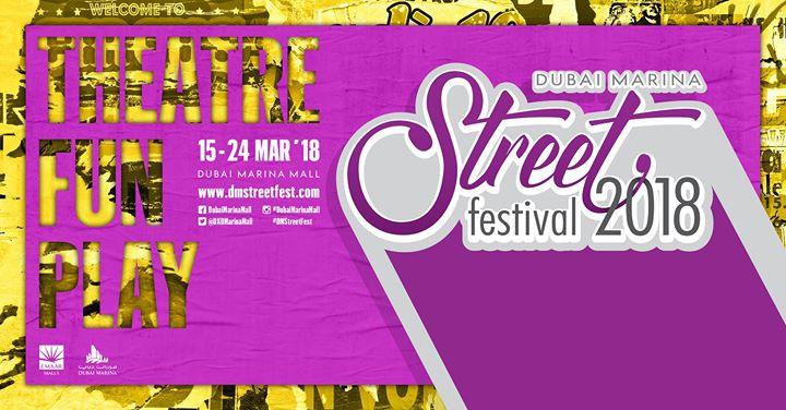 Marina Street Festival 2018 in Dubai
