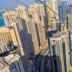 XLine Dubai Marina - The world's longest urban zipline - Tourist Attractions in Dubai, UAE