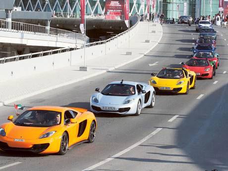 Dubai Motor Festival 2016