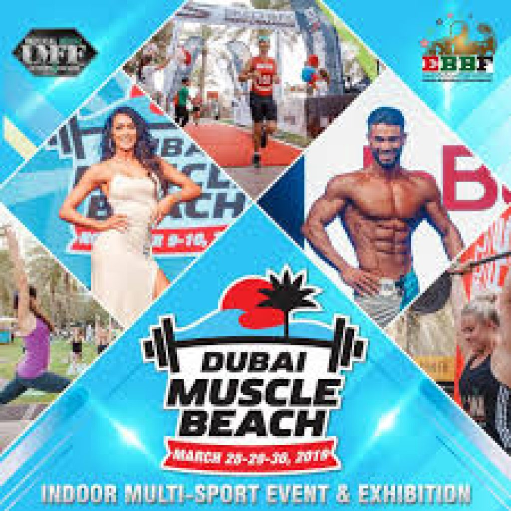 Dubai Muscle Beach fitness event at Michael Johnson Performance Center,2019,United Arab Emirates
