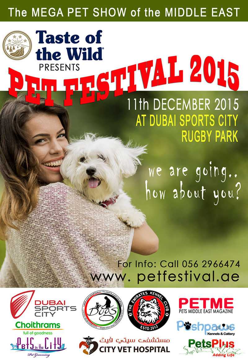 Dubai Pet Festival 2015 – Events in Dubai, UAE