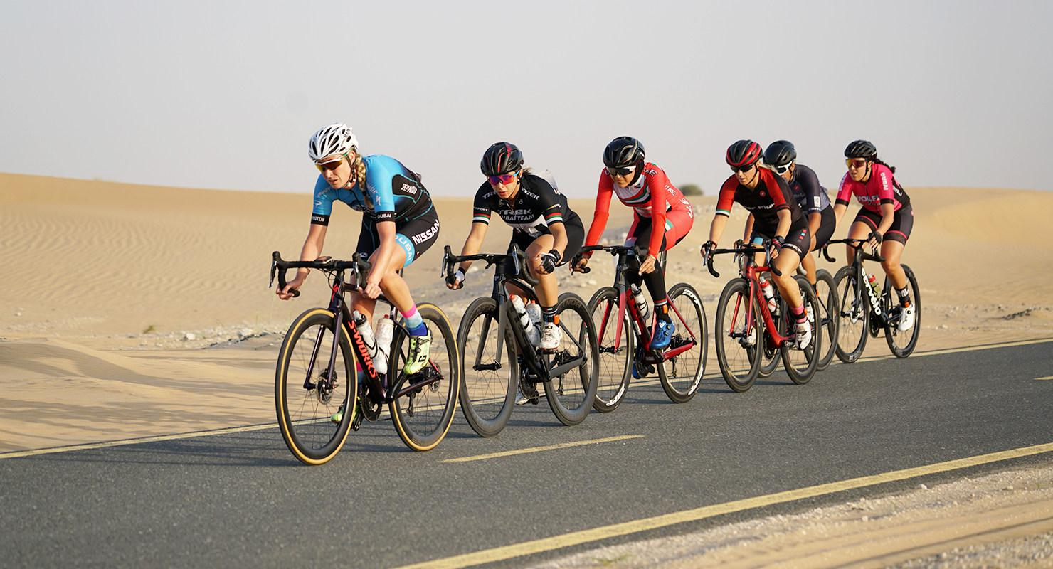 Dubai Women's Cycling Challenge on Sep 25th at Al Qudra Cycle Track 2020