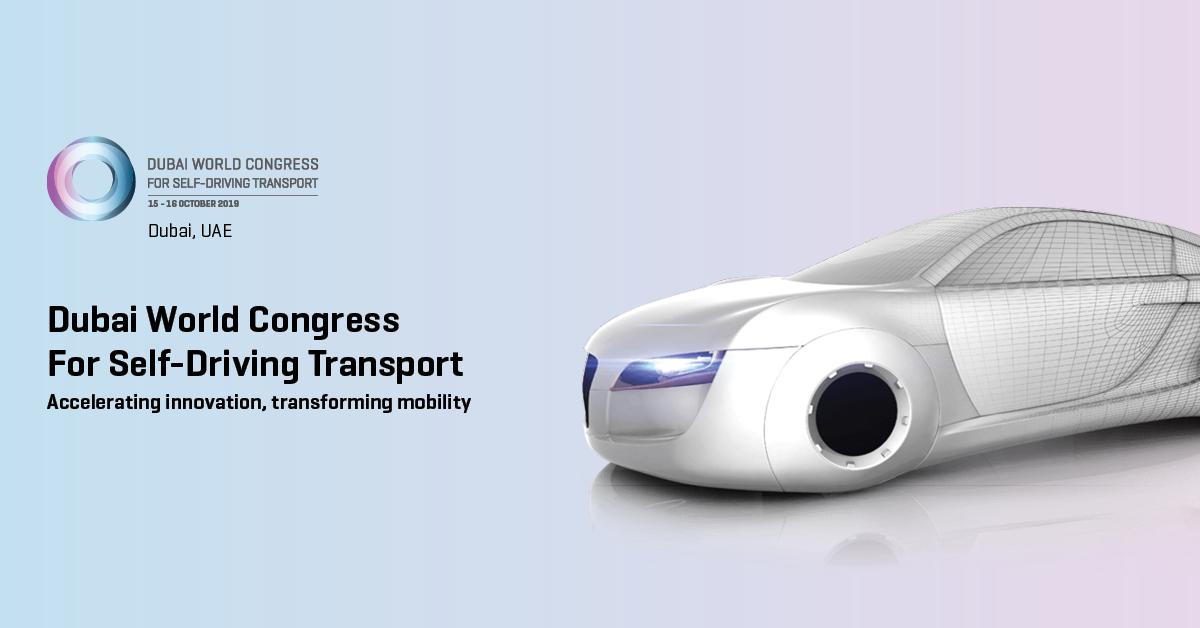 Self driving vehicle exhibition 2019 Dubai