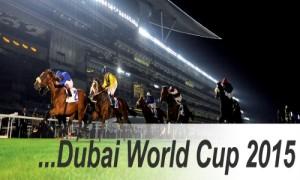 Dubai World Cup 2015 - Racing at Meydan