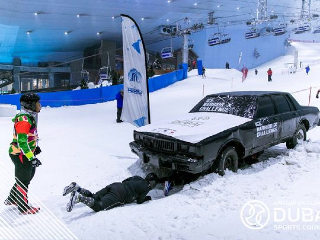 DXB Ice Warrior Challenge 2020