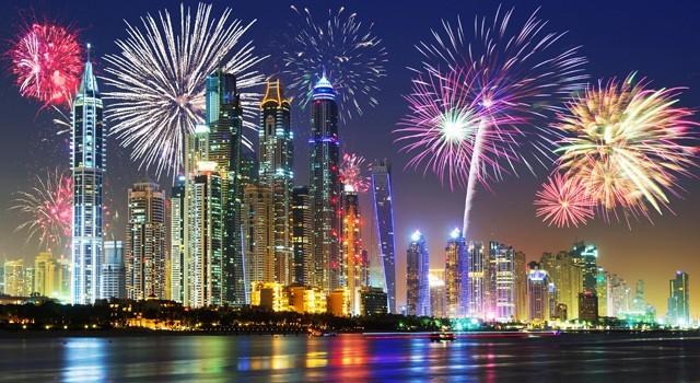Eid Al Adha Fireworks Dubai 2019