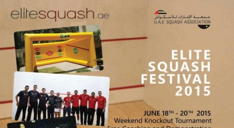 Elite Squash Festival 2015 in Dubai, UAE | Events in Dubai