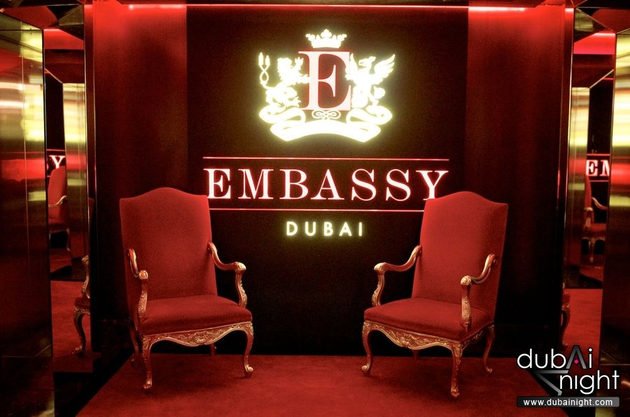 EMBASSY DUBAI, Embassy London brand, Clubs in Dubai, UAE, NightLife, Embassy Dubai style, European, Dubai Clubs