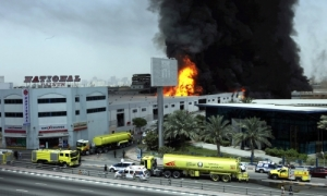 Emergency response in Dubai - Police, Ambulance and Fire Force