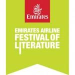 Emirates Airline Festival of Literature official logo.