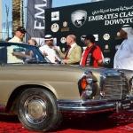 Emirates Classic Car Festival 2015 in Dubai