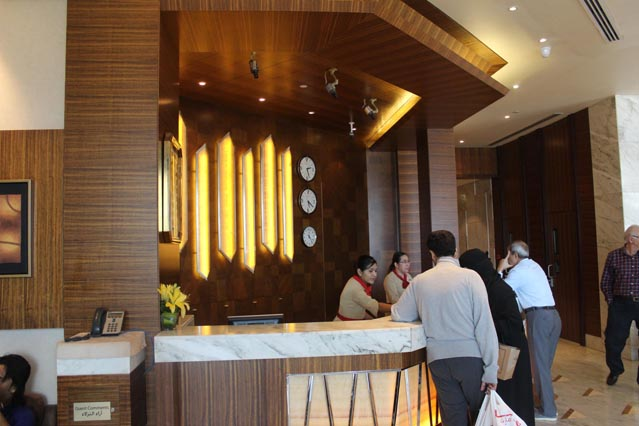 Emirates Grand Hotel Dubai UAE Main Reception – Review