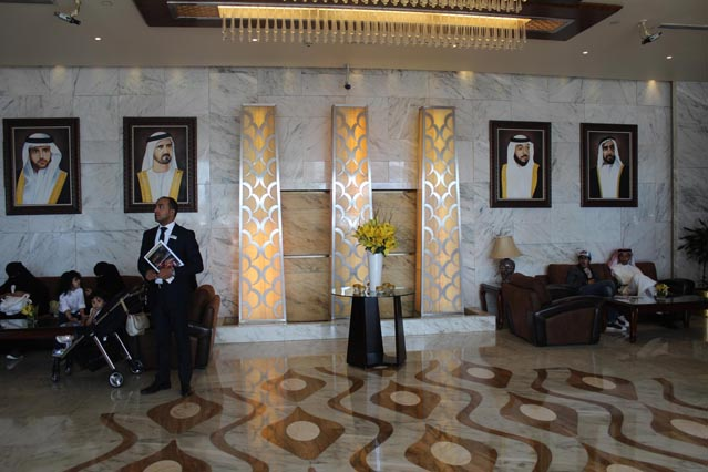 Emirates Grand Hotel Review - Entrance