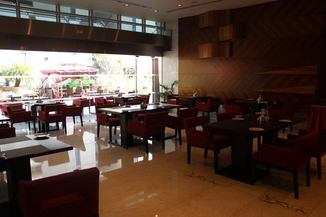 Dining at Emirates Grand Hotel - Food Corner
