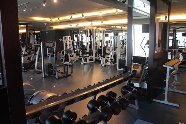 Emirates Grand Hotel Dubai UAE Review - Gym - Huge