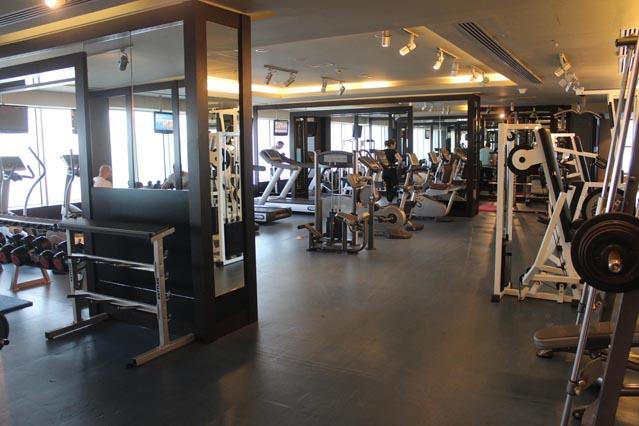 Emirates Grand Hotel Dubai UAE Review - Gym
