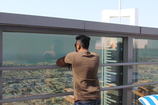 Emirates Grand Hotel Dubai UAE Review – Arabian Gulf views from 47th floor