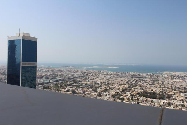 Emirates Grand Hotel Dubai UAE Review – Arabian Gulf views from top floor