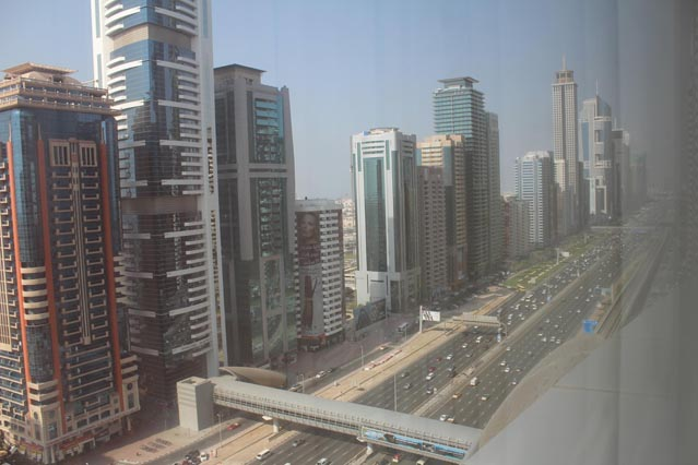 Emirates Grand Hotel Dubai UAE Review – View from 47th floor