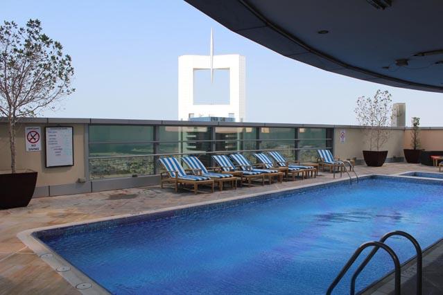 Emirates Grand Hotel Dubai UAE - Swimming Pool – Hotel Review