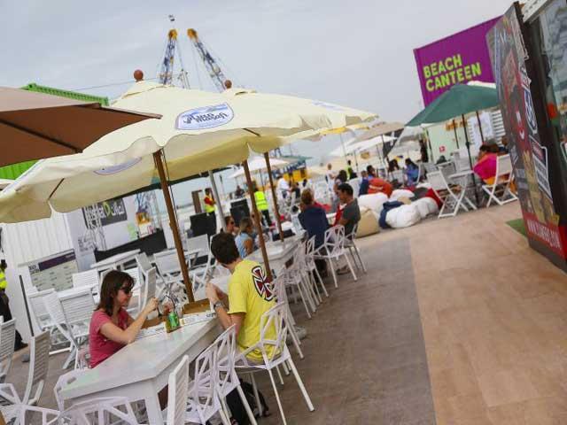 Etisalat Beach Canteen - official logo.