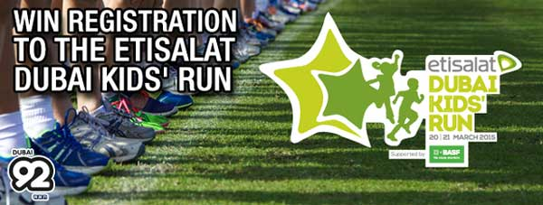 The Etisalat Dubai Kids Run 2016 – Events in Dubai, UAE