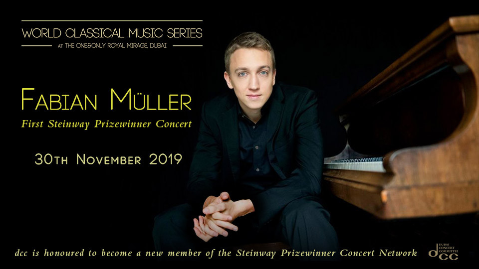 Fabian Muller in Concert on Nov 29th at One&Only Royal Mirage Dubai 2019