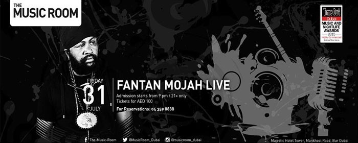 Fantan Mojah Live in Dubai, UAE | Events in Dubai