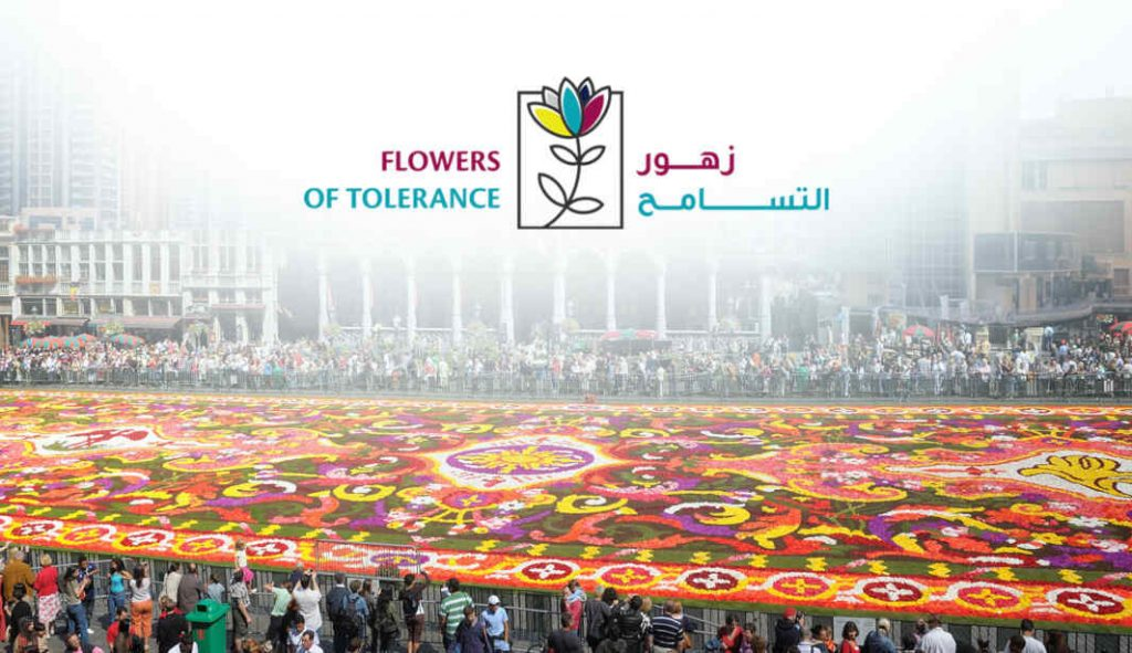 Flowers of Tolerance Dubai