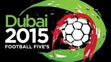 Football Fives World Championships 2015 in Dubai, UAE