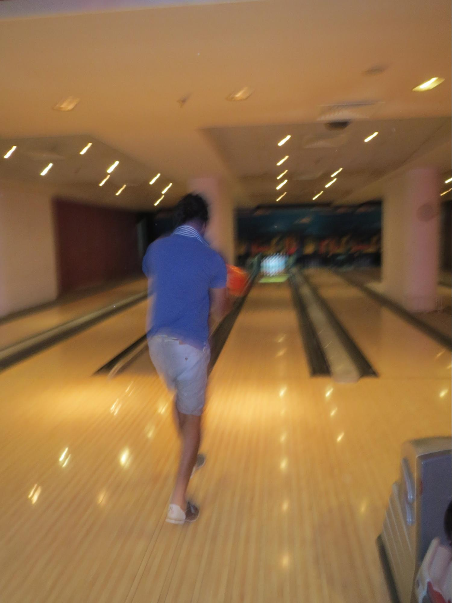 Kempinski Hotel, Ajman Review - Played Bowling - Games included in our package