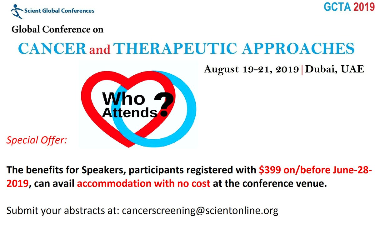Global Conference on Cancer & Therapeutic Approaches Dubai 2019