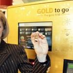 Gold ATM in Dubai, UAE