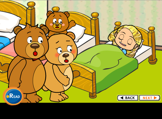 Goldilocks and The Three Bears Story Session Dubai 2020