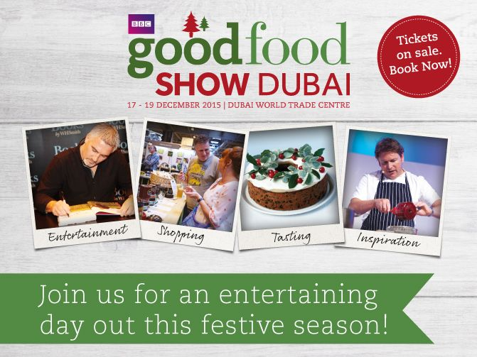 BBC Good Food Show Dubai 2015