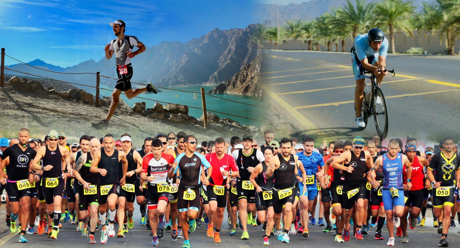 Grit + Tonic Triathlon: Hatta Dubai 2020