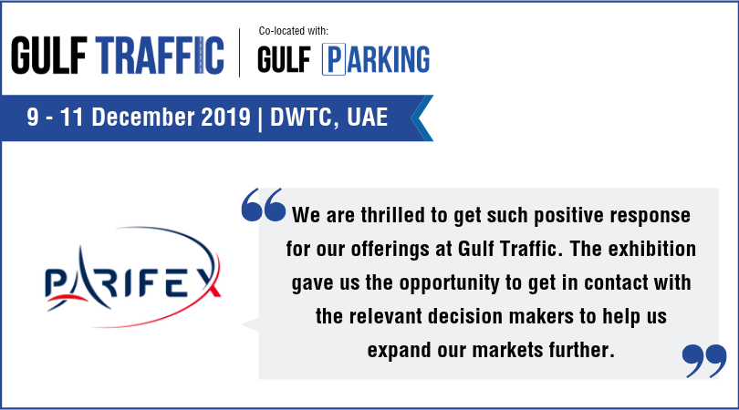 Gulf Traffic Exhibition and Conference 2019